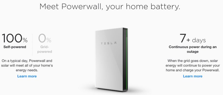 The promises of a Tesla Powerwall are suspect.