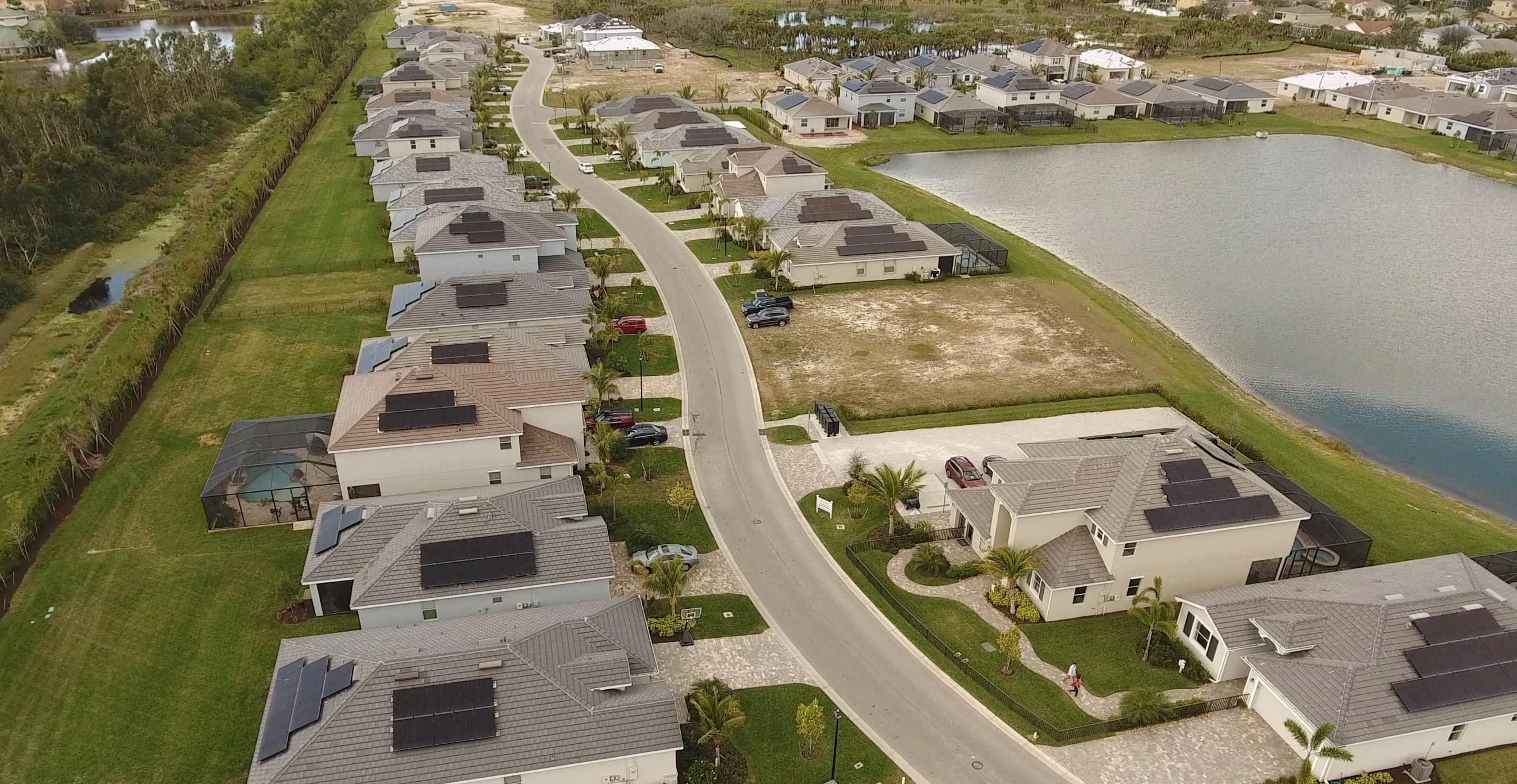 Fort Myers First All Solar Community Mirada By Lennar