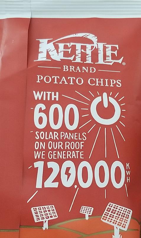 Kettle Chips Solar Panels