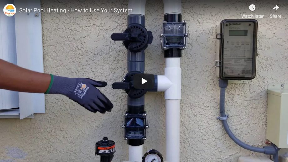 Solar 101 Video How To Solar Pool Heating