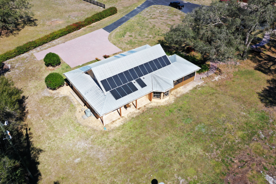 Alva, FL Solar Electricty System on a Home