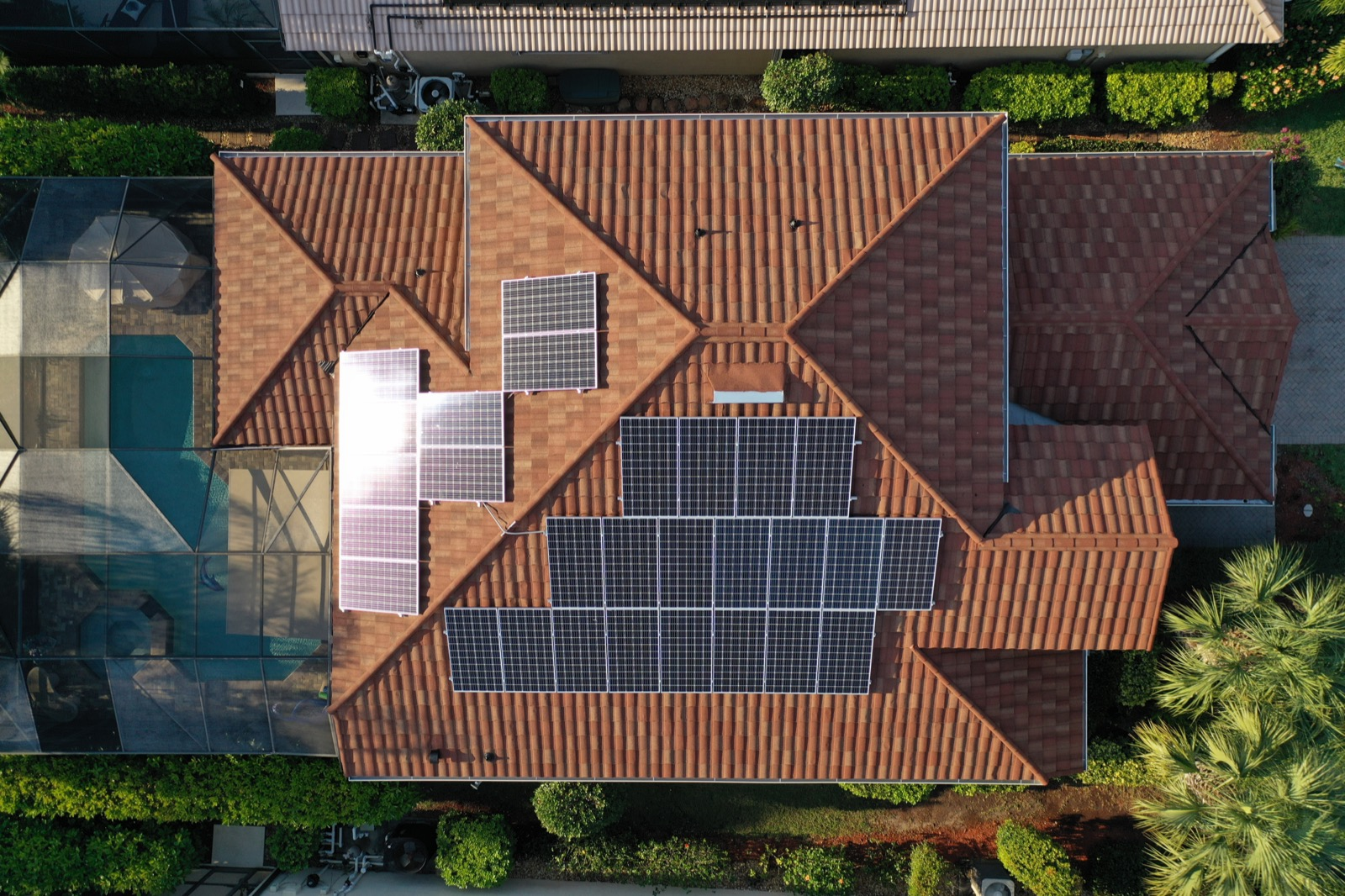 Solar Panels on Stone Coated Metal Tile Roofs - Florida