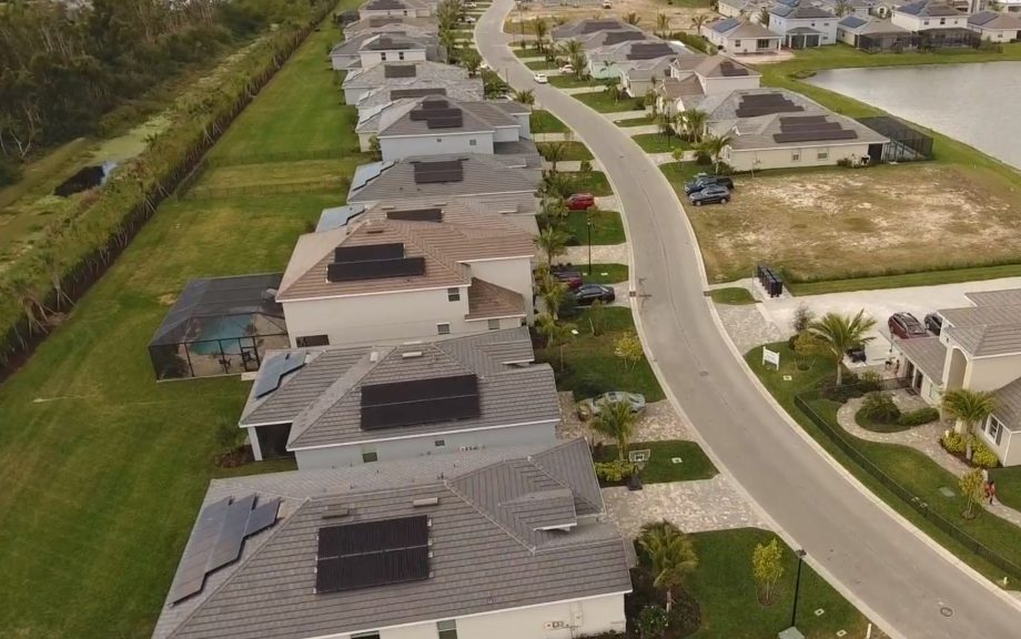 Builder Installed Solar Panels in Fort Myers