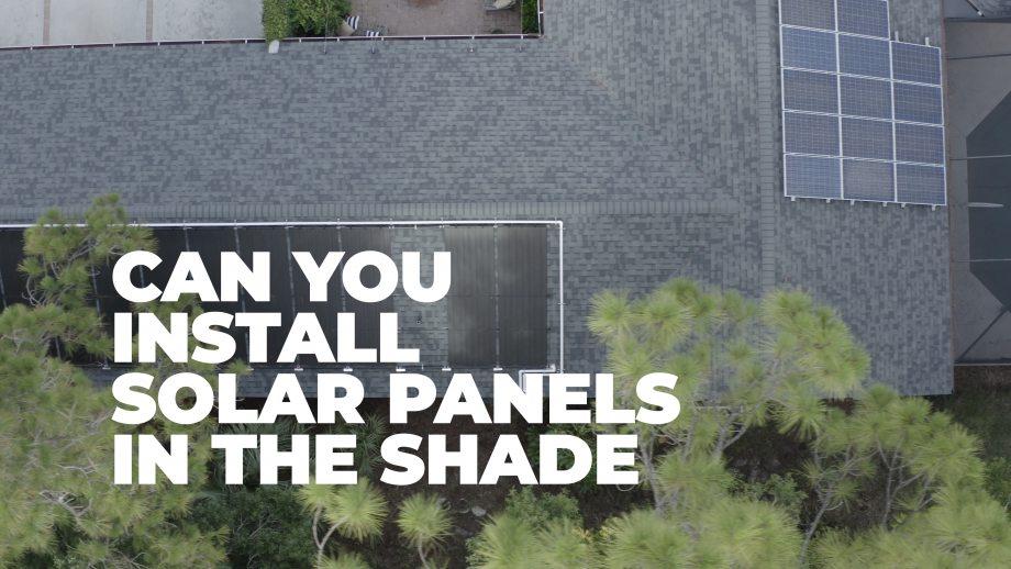 Can You Install Solar Pool Heating Panels In The Shade