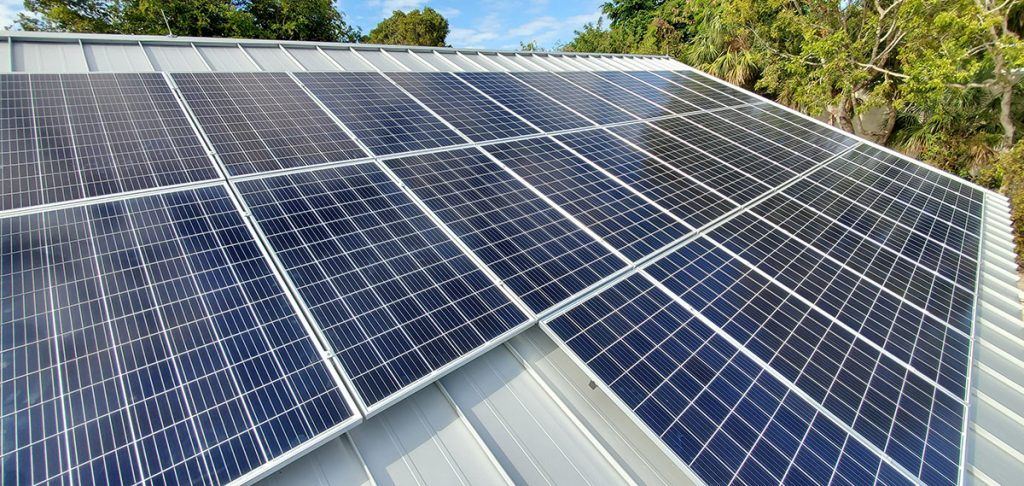 Solar Panels - Sanibel Captiva Community Bank