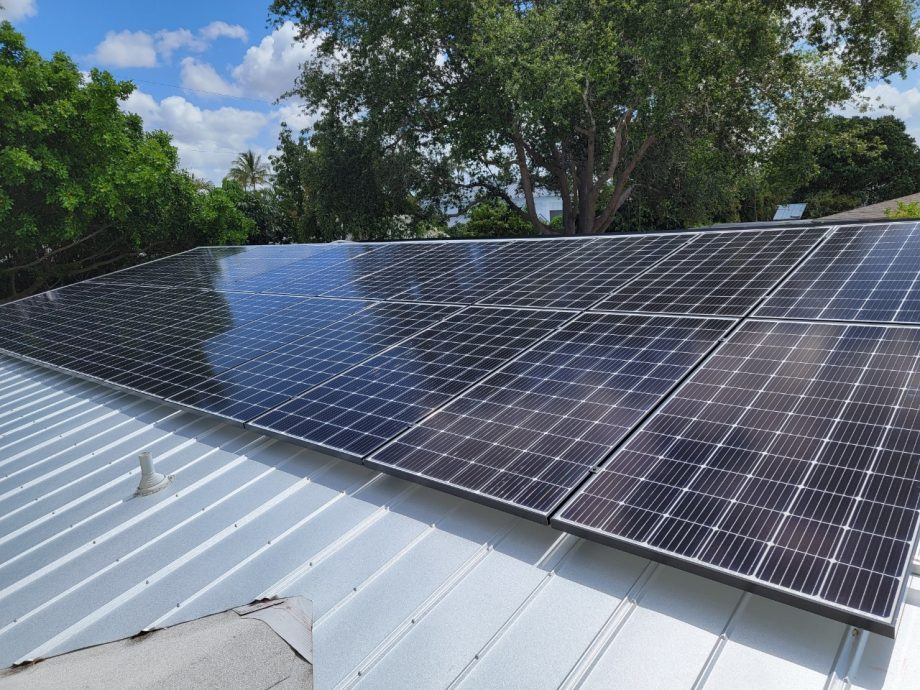Solar Panel Clipping System Photo